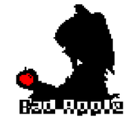 Bad Apple Teletext