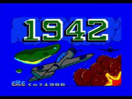 1942 - Title Screen - Amstrad CPC