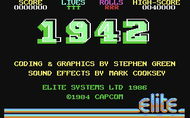 1942 - Title Screen - C64/C128
