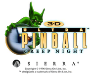 3-D Ultra Pinball: Creep Night autorun