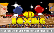 4D Boxing - Title screen (PC)