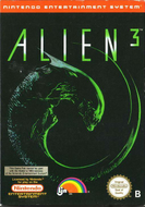 Alien 3 NES Box
