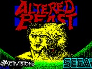 Altered Beast - Loading - Speccy