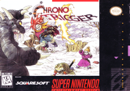 Chrono Trigger SNES Box Screenshot