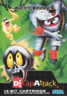 Decapattack Mega Drive cover