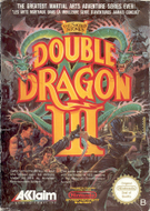 Double Dragon III NES Box Screenshot