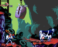 Earthworm Jim Genesis ingame Screenshot