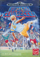 European Club Soccer Mega Drive cover