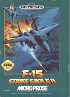 F-15 Strike Eagle II Genesis Cover