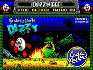 Fantasy World Dizzy - Loader - Speccy