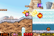 Kirby Nightmare in Dreamland ingame