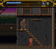 Mary Shelleys Frankenstein SNES Ingame Screenshot