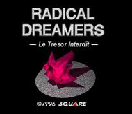 Radical Dreamers SNES Title Screen