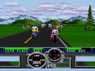 Road Rash MD Ingame Screenshot