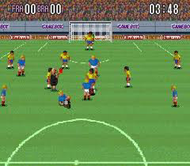 Super Soccer SNES Ingame Screenshot