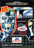 T2 The Arcade Game Mega Drive cover