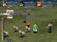 Xenogears ingame Screenshot
