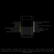 8bit The Dark Side of the Moon - Back