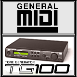 General Midi - TG100 Screenshot