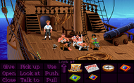 Secret Of Monkey Island - Screen 1 Screenshot