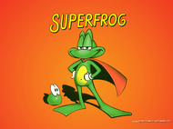 Superfrog - Title screen