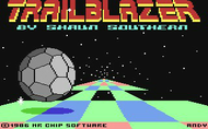 TrailBlazer - Loading Screen - C64/C128