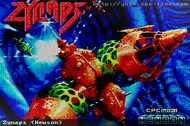 Zynaps - Loading Screen - Amstrad CPC
