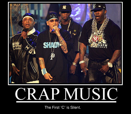 rap is crap Alright you have the few good rappers like snoop and ice cube who can actually do it good enough for me to take seriously, then you have these clowns like lil wayne, soulja boy it&#39s absolute garbage and i can honestly say that rap is crap.