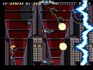 [Análise Retro Game] - Battle Mania Daiginjou Trouble Shooter Vintage - Mega Drive Battle_Mania_Daiginjou_ingame
