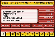 big chipcompo #6 votedisk Screenshot