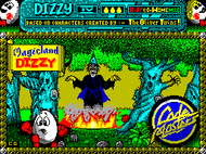 Magic Land Dizzy - Loading - Spectrum