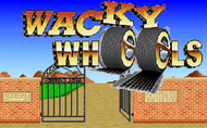 Whacky Wheels - Title