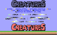 Creatures C64 - Title screen ani Screenshot