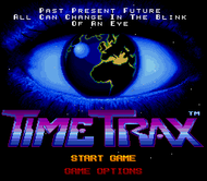 Time Trax: Title Screen (SNES)