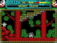 Magic Land Dizzy - Ingame - Spectrum
