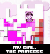 My Girl, The Princess - Album Cover