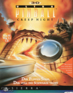 3D Ultra Pinball Creep Night Front Cover