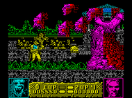 Altered Beast - Ingame - Speccy