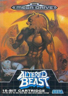 Altered Beast Sega Mega Drive box Screenshot