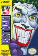 Batman Return of The Joker NES Box