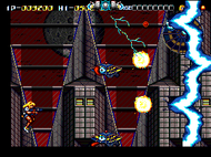 Battle Mania Daiginjou Mega Drive ingame Screenshot