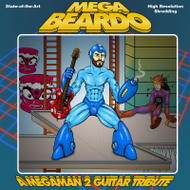 Mega Beardo - Mega Man 2 Guitar Tribute