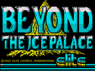 Beyond The Ice Palce (ZXSpec) - Loading Screenshot