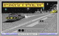Panther (C64) - Title screen