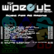 The Wipeout Generation - CD Back Screenshot