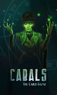 Cabals: The Card Game - Splash screen