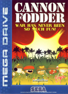 Cannon Fodder Mega Drive box Screenshot