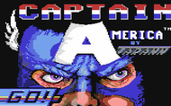 Captain America c64 Title Screen