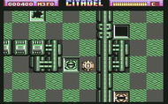 Citadel c64 Ingame Screenshot
