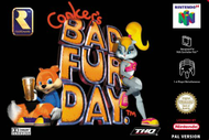 Conkers Bad Fur Day N64 Box Screenshot